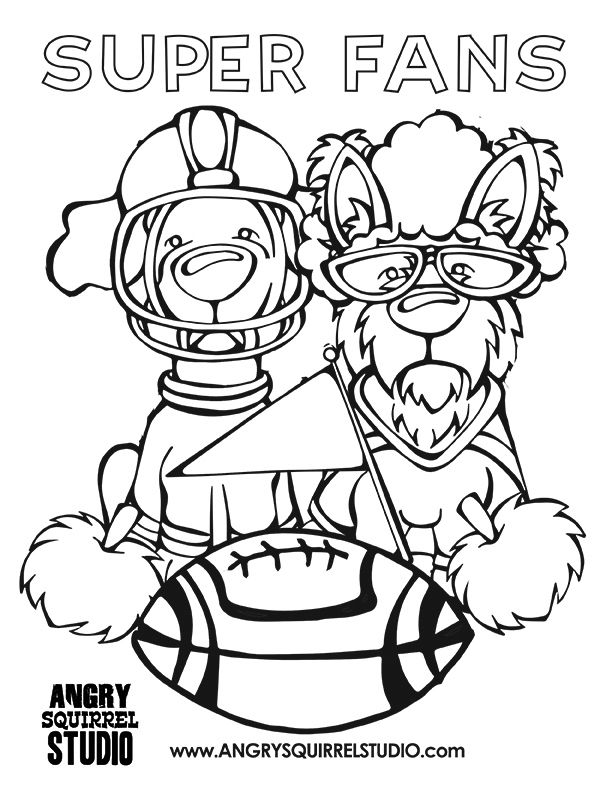 Bloodhound Coloring Pages