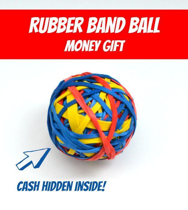 Rubber Band Ball Creative Money Gift Creative Money