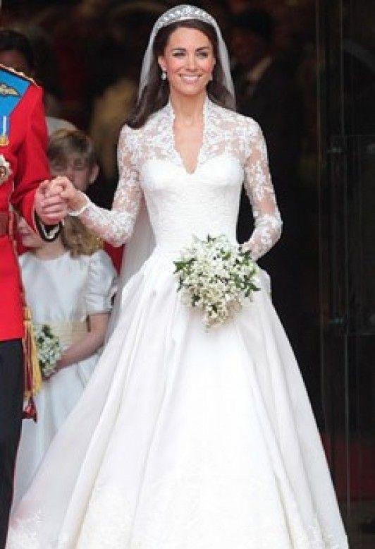 Mer Enn 25 Bra Ideer Om Robe Mariée Kate Middleton På Pinterest