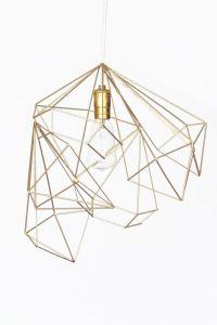 1000+ images about DIY Geometric Pendant Light on Pinterest