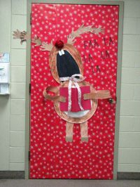 71 best images about Christmas Door Decorations on