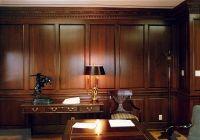 wood paneled office | Home Office | den ideas | Pinterest ...