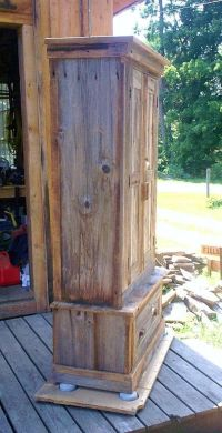 Simple Wood Gun Cabinet Plans - WoodWorking Projects & Plans