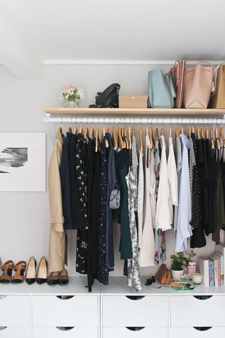 Top 25 ideas about Open Wardrobe on Pinterest