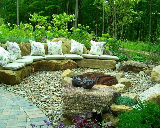 garden patio ideas - Rock Garden Patio Ideas