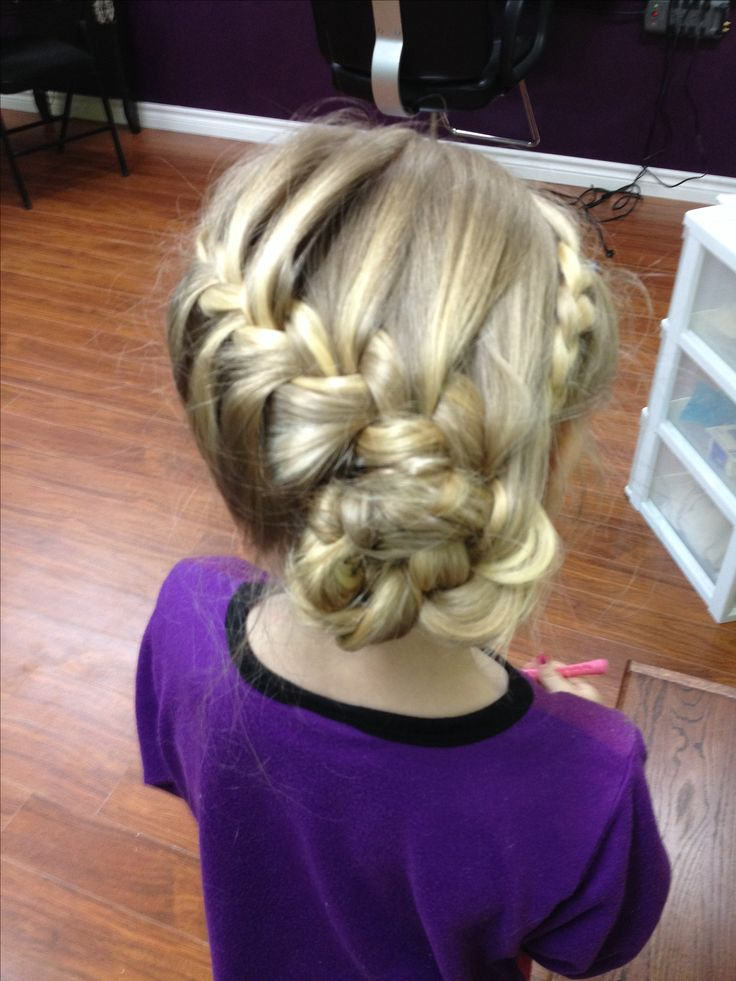 25 Best Ideas About Little Girl Updo On Pinterest Little Girl