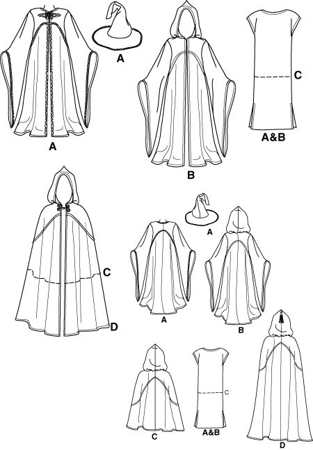 25+ great ideas about Cloak pattern on Pinterest