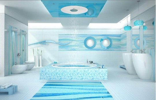 62 Best Images About Aqua Bubble Bathroom On Pinterest