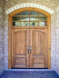 Country French Exterior Wood Entry Door Style DbyD-2001 ...