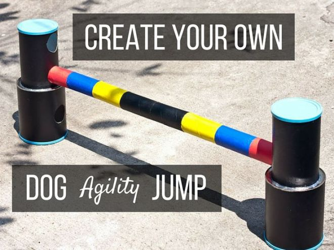 Diy create an upcycled dog agility jump discover more