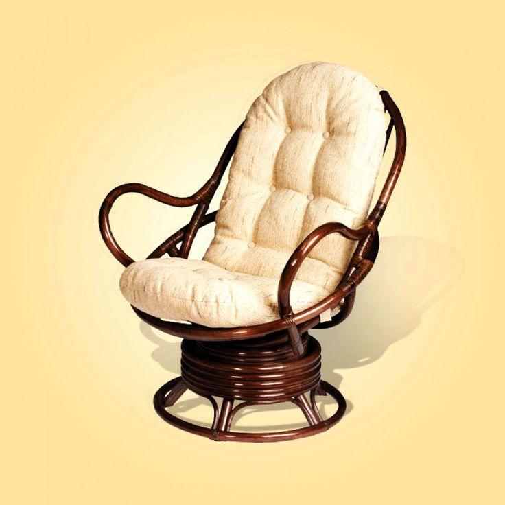 rattan wicker rocking chair cushion black leather dining chairs with legs | rattanusa-rattan swivel chairs-java arm ratan ...