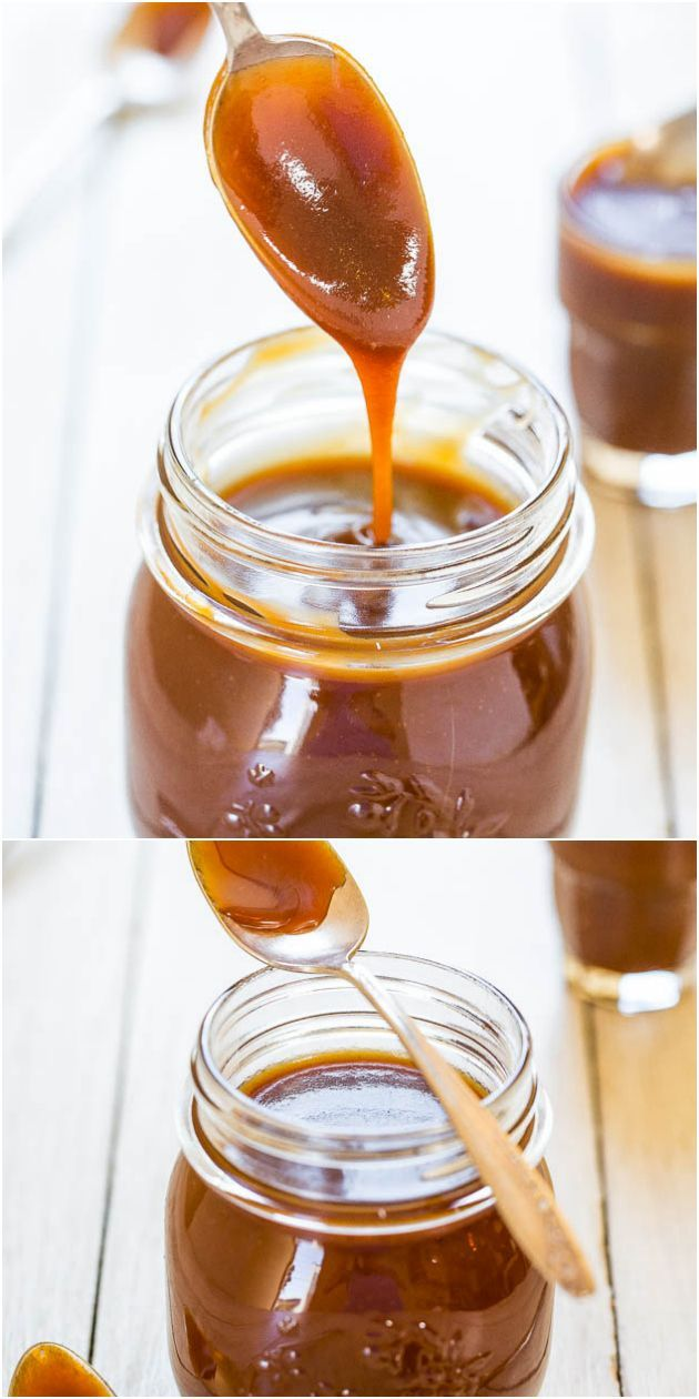 The Best & Easiest Homemade Salted Caramel Sauce – Ready in 15 minutes & tastes 1000x better than any stor