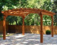 costco-cedar-pergola-kits | Backyard: Patio | Pavilion ...