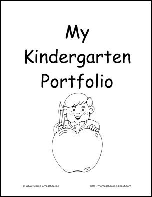 25+ best ideas about Kindergarten portfolio on Pinterest