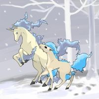 Shiny Rapidash and shiny Ponyta | pokemon | Pinterest ...