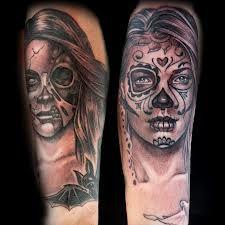 Sugar Skull Good Vs Evil By Tatu Baby On Ink Master