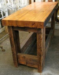 1000+ ideas about Butcher Block Tables on Pinterest