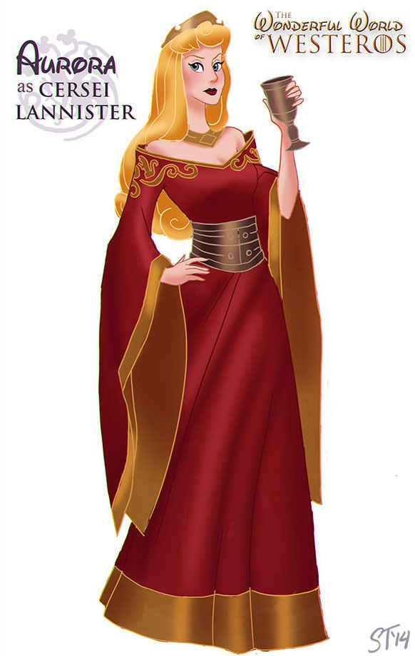 "Sleeping Beauty | Disney Princesses As ""Game Of Thrones"" Characters"