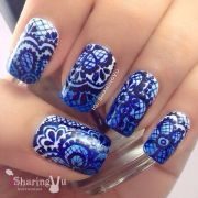 ideas lace nail