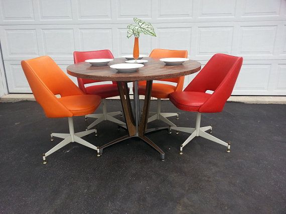 grey microfiber sleeper sofa baby blue slipcover mid century dinette set ~ retro dining table and chairs ...