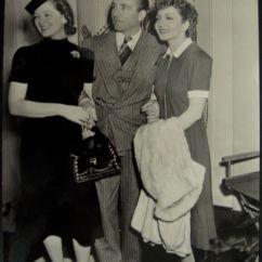 Ebay Kitchen Rock Backsplash Myrna Loy, Her Husband Arthur Hornblow Jr. And Claudette ...