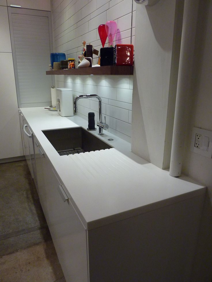 Rectangular Stainless Steel Undermount Sink Custom Routed