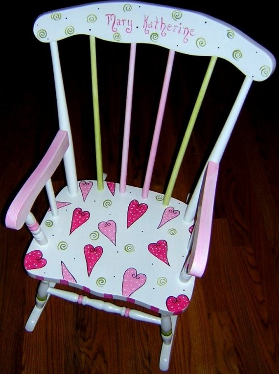 personalized little kid chair girl chairs for rooms 3799 best images about painted furniture on pinterest | hand furniture, ...