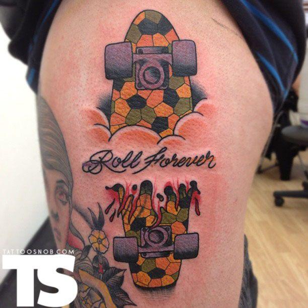Skateboard Tattoo Ideas