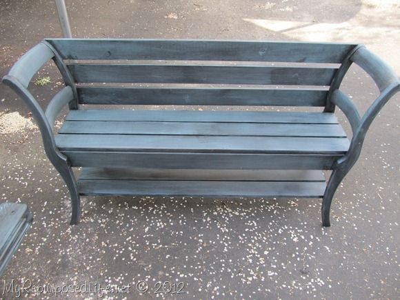 17 Best ideas about Chair Bench on Pinterest