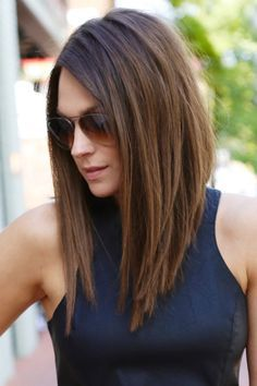 25 Best Ideas About Long Asymmetrical Bob On Pinterest