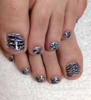 glitter toes ideas