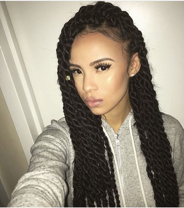 25 Best Ideas About Box Twists On Pinterest Black Braids Black