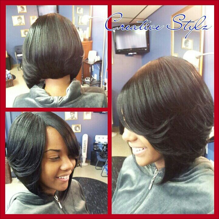 The 32 Best Images About Quick Weave Bob On Pinterest Feathered