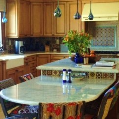 Counter Height Kitchen Tables 5 Drawer Base Cabinet Bi-level Island, Table Height, And With ...