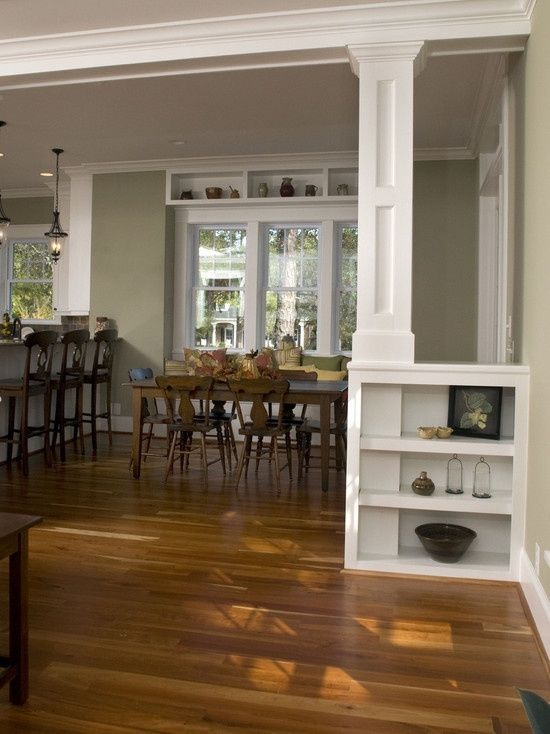 how to remove wall separating living room and kitchen ...
