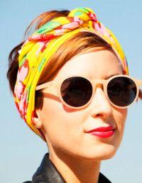 1000+ ideas about Headband Scarf on Pinterest | Hair Claw ...