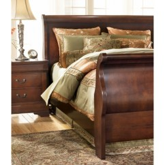 Living Room Rug Sets Paint Colors With Dark Wood Floors Ashley Furniture | Claremont Sleigh Bed B477-s-bed, ...