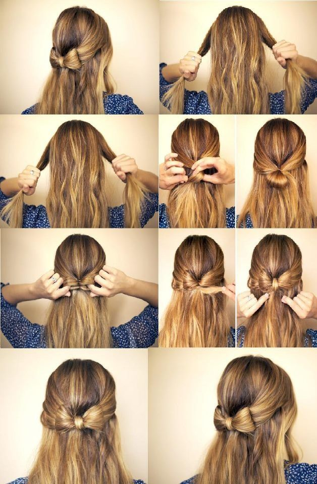 25 Best Ideas About Bow Hairstyle Tutorial On Pinterest Hair