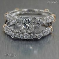 It's easy to mix and match #Verragio designs. Take a look ...