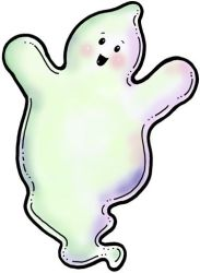 halloween cute clipart ghosts ghost picasa web clip candy spiders albums cookie karmelina collection erika cutters quilt labels carmen freer
