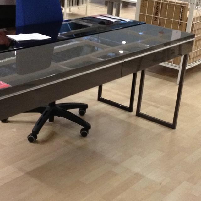 ikea living rooms ideas design your own room wallpaper besta burs gloss gray desk. $269 | pinterest ...