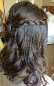 bridal hair braids ideas