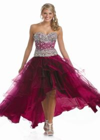 17 Best images about Burgundy Prom Dresses on Pinterest ...