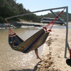 Hammock Chair Stands Diy Covers And Bows To Hire Trailer Hitch Stand - Google Search | Camping Pinterest Search, Hammocks ...