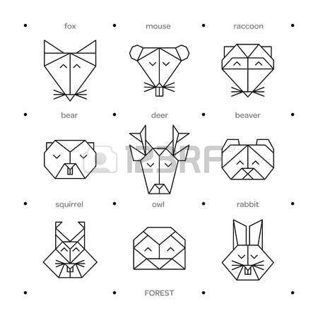 17 Best images about Drawing Animals Using Simple Shapes