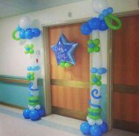 Hospital door decoration baby boy   Babies\baby shower ...