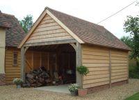 25+ best ideas about Wooden garages on Pinterest ...