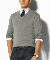 sweater/tie combo | My Style | Pinterest | Ralph lauren, V ...