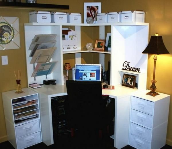 space saving home office idea 13 best images about Small Space Office Ideas on Pinterest