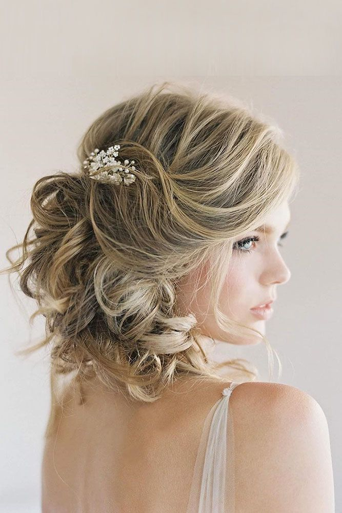 25 Best Ideas About Short Wedding Hairstyles On Pinterest
